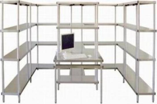 Sistem de rafturi modulare Therma-Bamboo