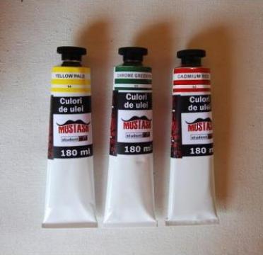 Culori acrilice mustash