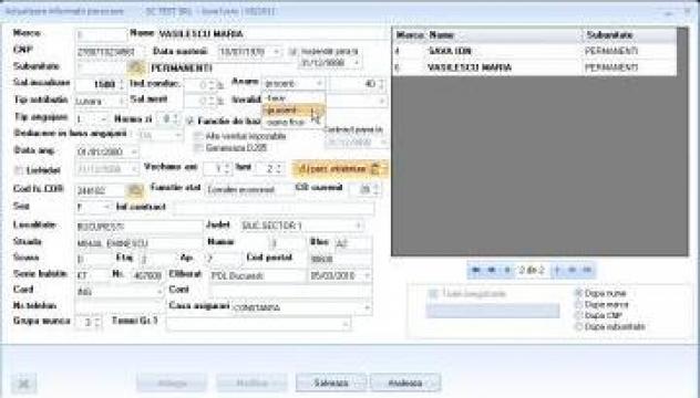 Program software salarii de la Soft Expert