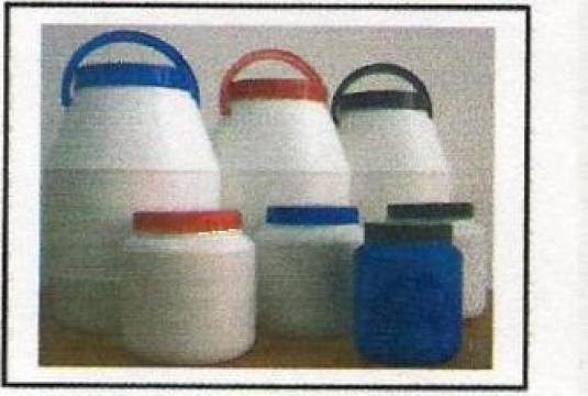 Flacoane plastic cu capac de la Lariplast Srl.
