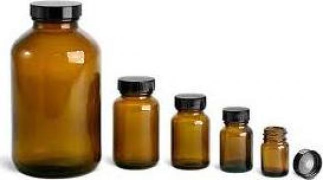 Sticla 125 ml brun 88/bax de la Plastic Prod Srl