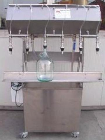 Masina de imbuteliat semiautomata
