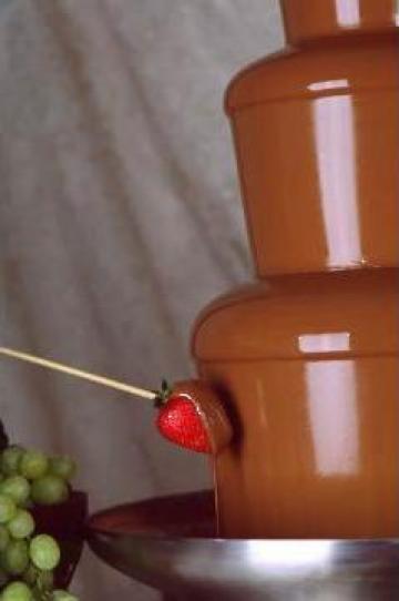 Fantana de ciocolata de la Nuntadeciocolata.ro