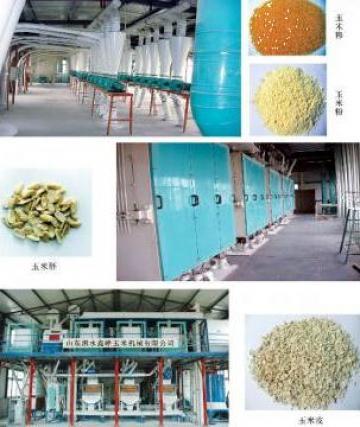 Moara faina, echipament centrala morarit de la Shandong Sishui Xin Feng Flour Machinery Co.,ltd.