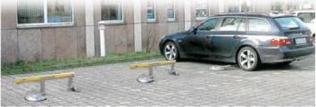 Bariera parcare pilomat Park de la Metex Imp Srl.