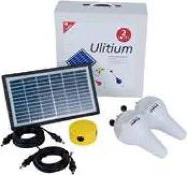 Lampa modul solar ulitium de la Ecovolt