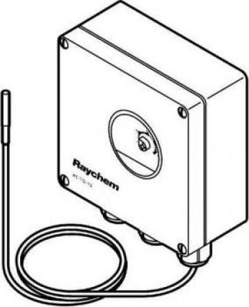 Termostat aplicatii exterioare degivrare ip 66 de la Total Heat