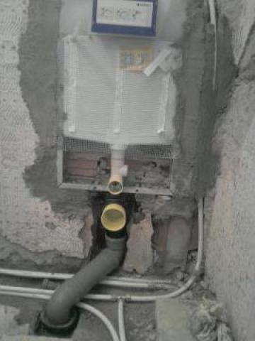 Lucrari de instalatii sanitare si executie bai de la Nividar Sim Construct Srl