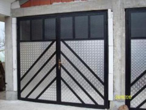 Porti garaj fier forjat de la Durinox Srl