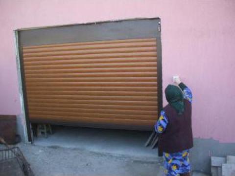 Reparatii si montaj usa de garaj rulou de la Gamaterm Design