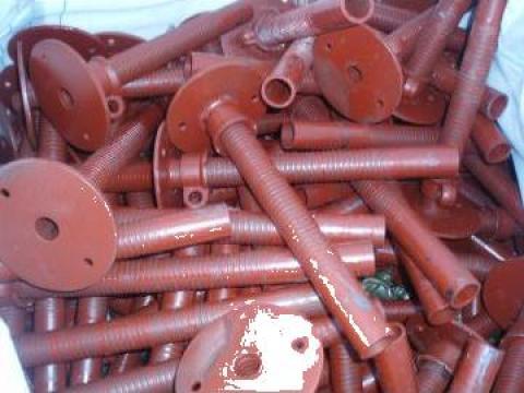 Elemente montaj schela metalica, bride, ancoraje