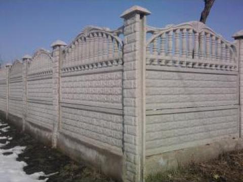 Gard beton armat, tuburi fantana; pavaje, confectii metalice