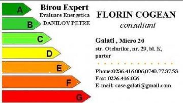 Certificat energetic de la S.c. Credit Ideal S.r.l.