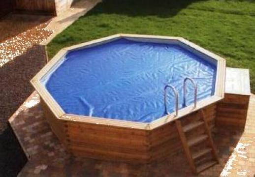 Piscina lemn octogon timisoara teo pool construct id for Amenajari piscine exterioare