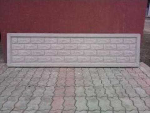 Placa gard beton 2000x500x50 de la Gurgui Neculai Iancu I.I.