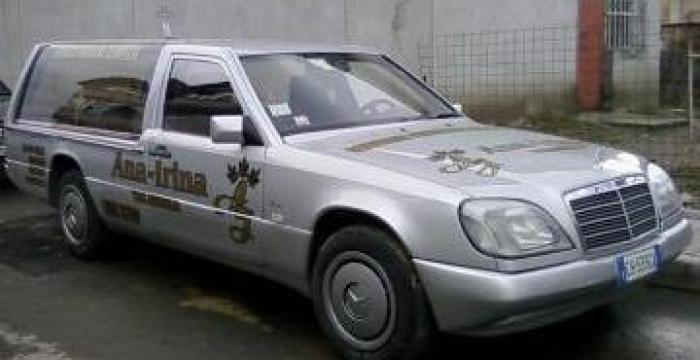 Inchiriere limuzine funerare Mercedes de la Servicii Funerare Ana-Irina