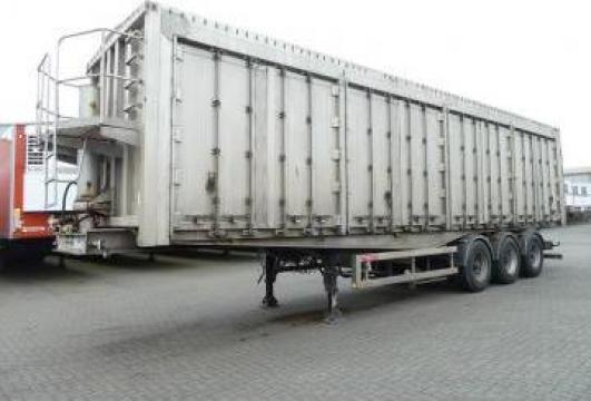 Semiremorca basculabila GT Trailer 65 mc, abs, aluminiu de la Kleyn Trucks Bv