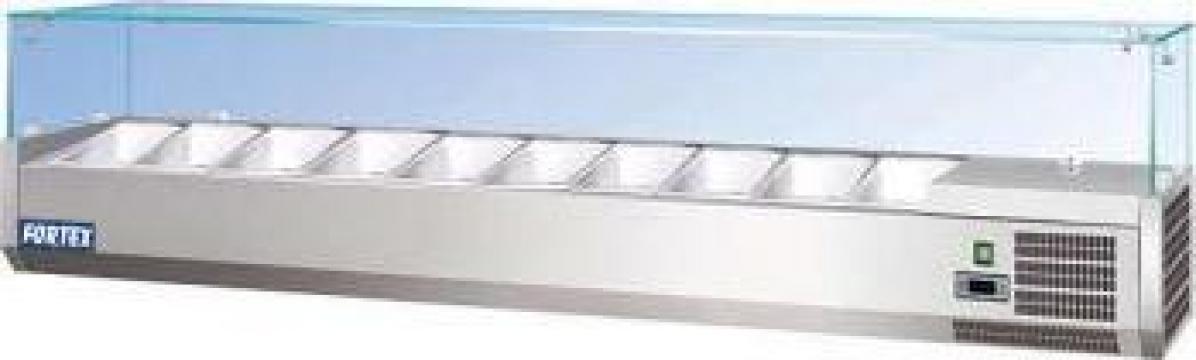 Vitrina ingrediente 1,8m 9xGN1/4 250785