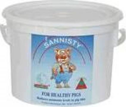 Solutie reducere nivel de amoniu Sannitree Sannisty