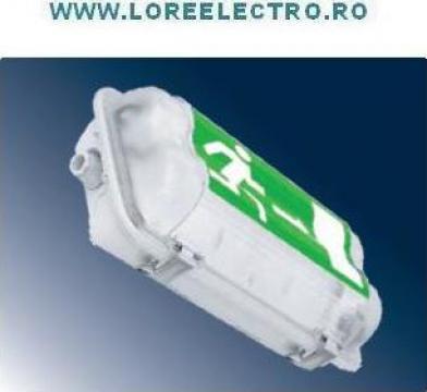 Corp de iluminat Exit Antiex 1X8W, autonomie 3H