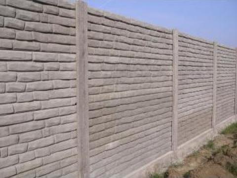 gard din placi de beton timisoara trionet srl id 1306371. Black Bedroom Furniture Sets. Home Design Ideas