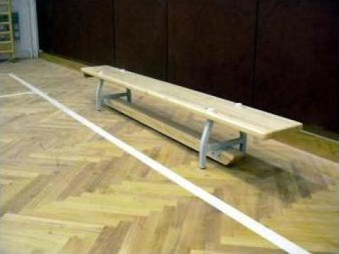 Banca gimnastica picioare metalice