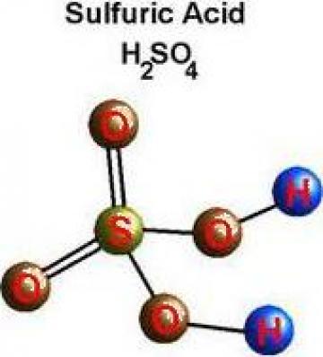 Acid sulfuric tehnic 96 % - 98 % de la Bads Brasov