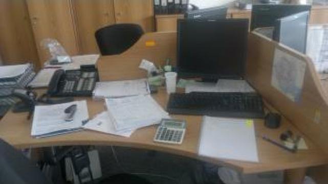 Mobilier ansamblu patru birouri Office Neoset de la Hertz Lease