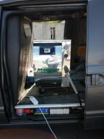 Utilaj pentru spalatorie auto ecologica cu abur de la Adriatic Arial Group Srl