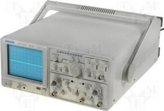 Osciloscop analogic-digital, 20 MHz de la Redresoare Srl