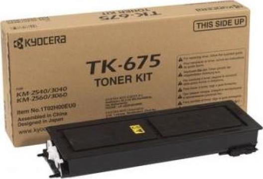 Cartus Copiator Original KYOCERA TK-675 de la Green Toner