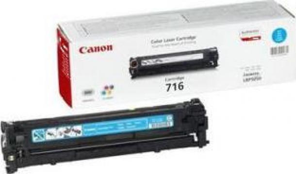Cartus Imprimanta Laser Original CANON CRG-716C de la Green Toner