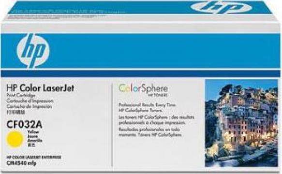 Cartus Imprimanta Laser Original HP CF032A