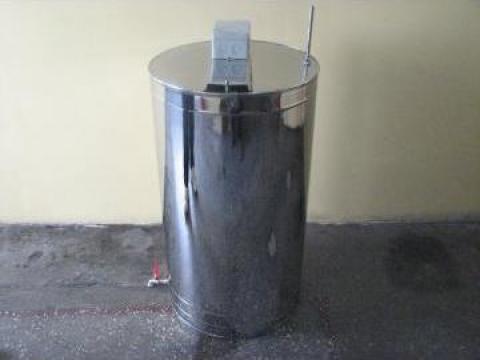 Bazin inox pentru automate lapte de la Rodax Impex Srl