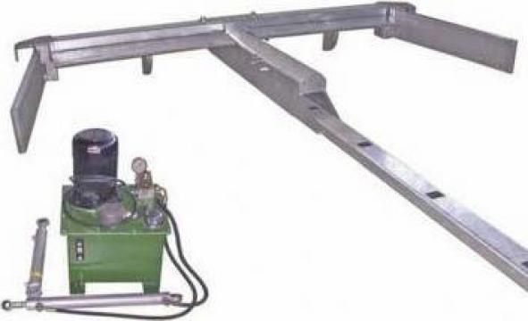 Sistem hidraulic evacuare dejectii (balegar) animale