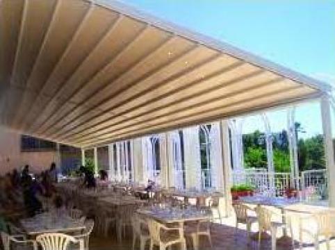 Pergole pentru restaurante si terase
