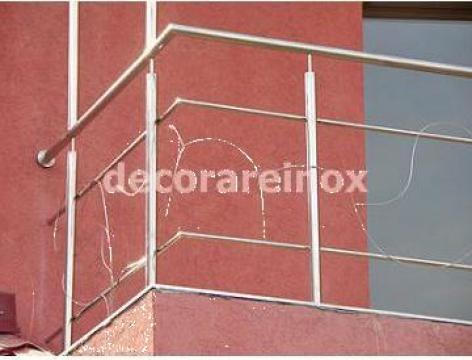 Balustrada inox clasica de la Decorare Inox Srl
