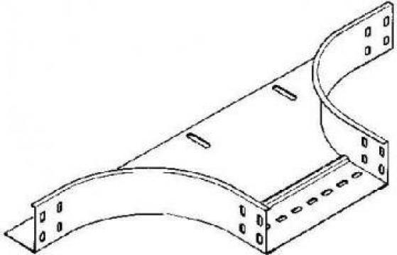 Piesa T pentru canal cablu