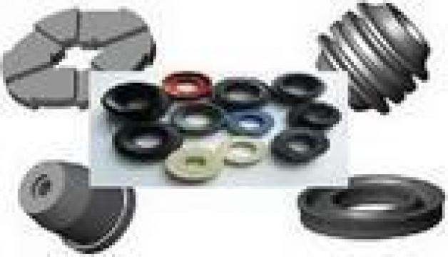 Garnituri etansare cauciuc siliconic plate rotunde profilate