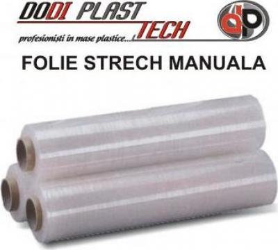 Folie stretch paletizare manuala de la Dodi Plast Tech Srl