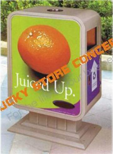 Cos de gunoi urban B2709 de la Lucky Store Solution SRL