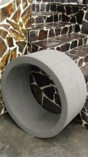 Tuburi din beton pentru fantani si canalizari
