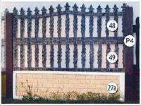 Gard beton prefabricat fier forjat, 26 de la Amonra Sun Srl