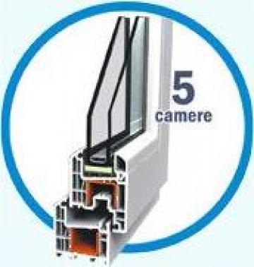 Tamplarie PVC cu 5 camere de la Gip Srl
