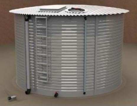 Rezervoare metalice pentru stocare apa de la Sc Brendix Srl