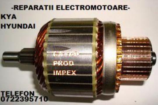 Reparatii electromotor Hyundai 3610023000, rotor de la Cavad Prod Impex Srl