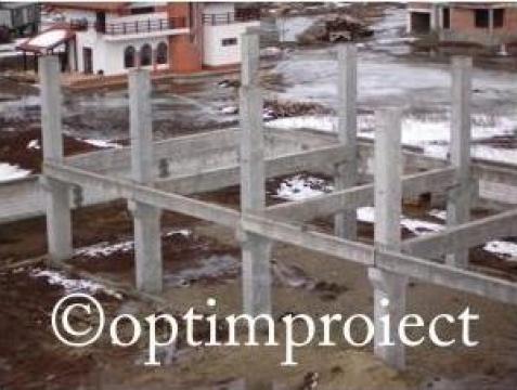 Executie constructii beton depozite, fabrici, linii de produ