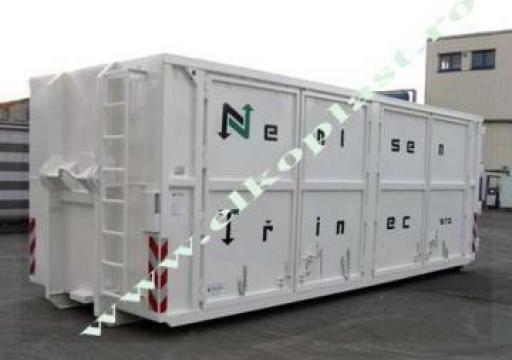 Containere pentru produse periculoase Abroll de la Elkoplast Romania Srl.