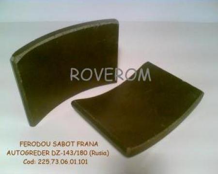 Ferodou sabot frana autogreder DZ-143/180