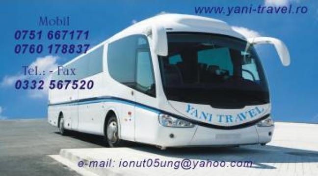 Transport curse persoane Bacau-Germania de la Yani Travel SRL